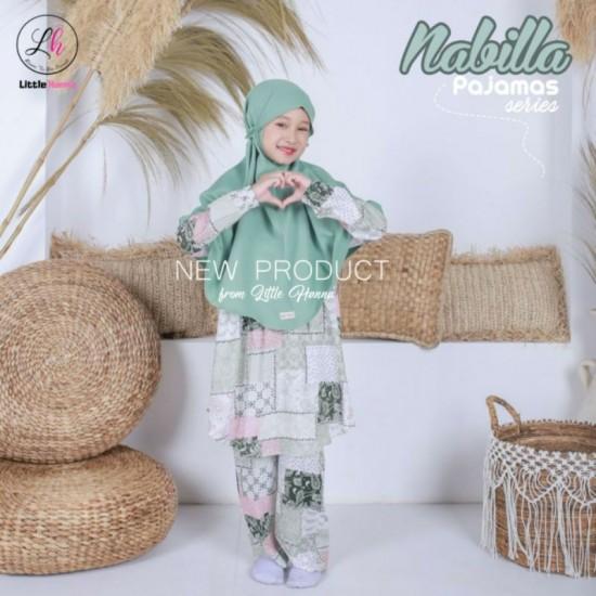 Nabilla Pajamas Green