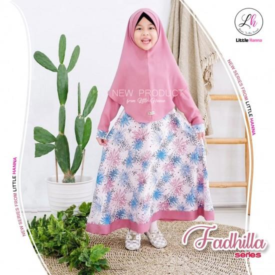 Gamis Anak Fadhilla Series Dusty Pink