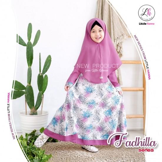 Gamis Anak Fadhilla Series Lavender