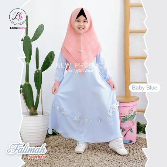 Gamis Anak Fatimah Series Baby Blue