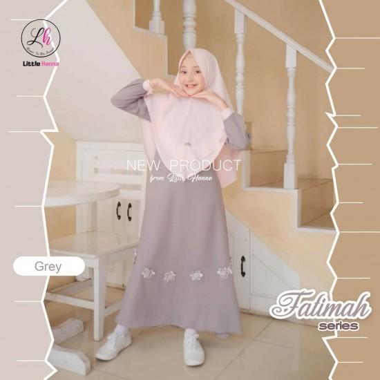 Gamis Anak Fatimah Series Grey