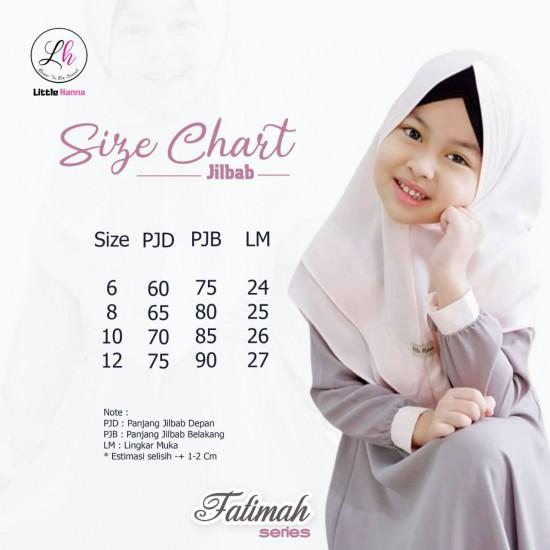 Gamis Anak Fatimah Series Coksu
