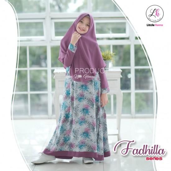 Gamis Remaja Fadhilla Series Lavender
