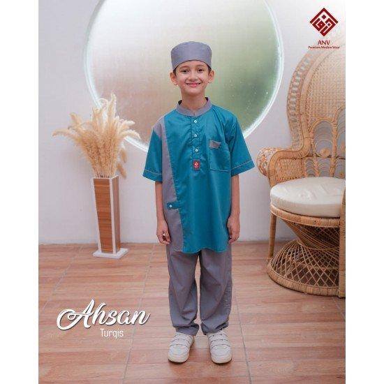 Koko Anak Ahsan Series Turqis