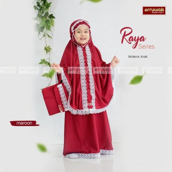 Mukena Rayya Series Maroon