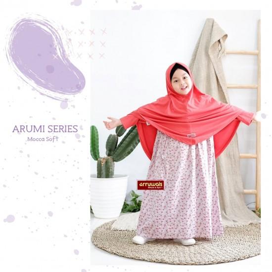 Gamis Anak Arumi Series Mocca Soft