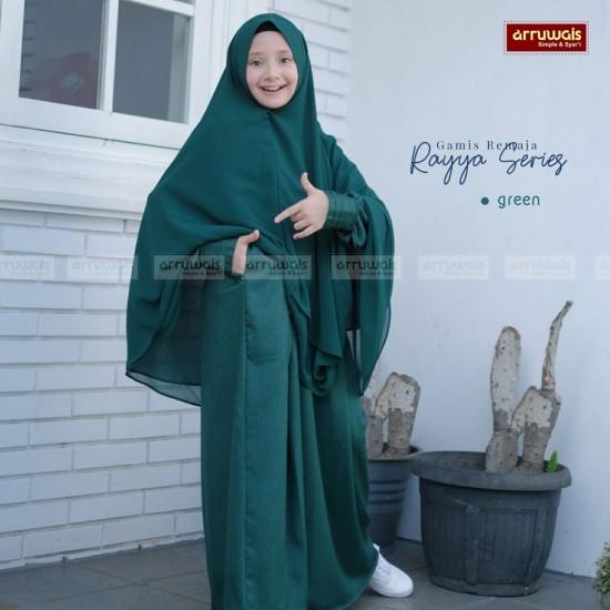Gamis Anak Raya Series Green