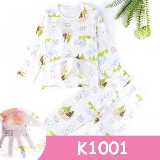 Baju Tidur Anak Lengan Panjang K1001