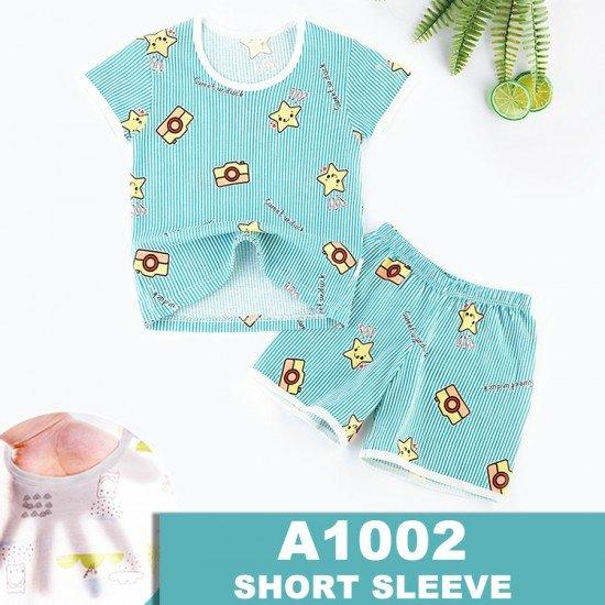 Baju Tidur Anak Lengan Pendek A1002