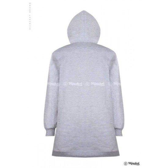 Hijacket Basic Grey Black