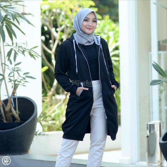 Hijacket Basic Black Grey