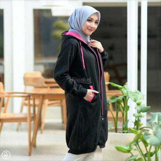 Hijacket Basic Black Pink
