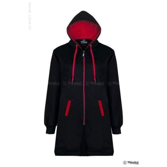 Hijacket Basic Black Red