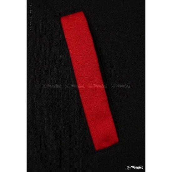 Hijacket Basic Black Red