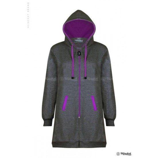 Hijacket Basic Misty Purple