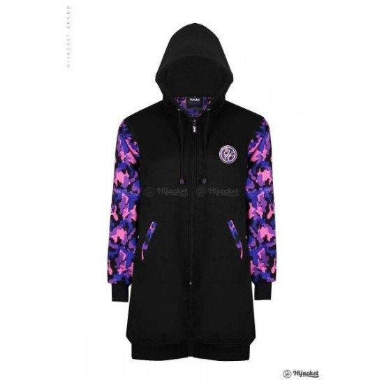Hijacket Camouflashion Black Purple