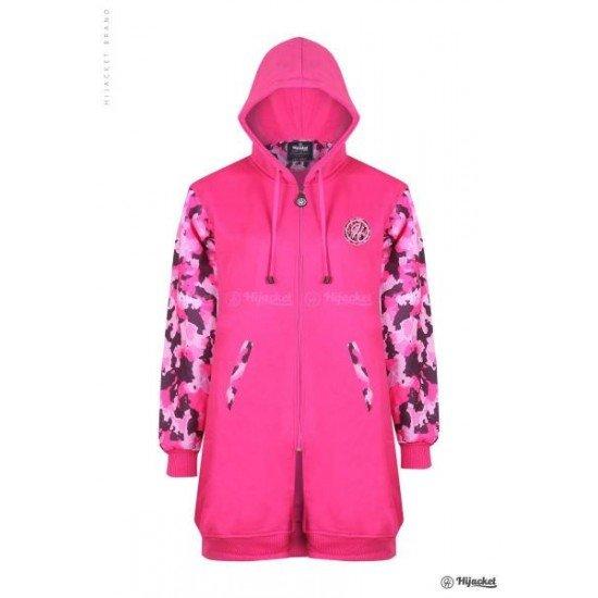 Hijacket Camouflashion Rose Pink