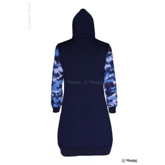 Hijacket Camouflashion Royal Blue