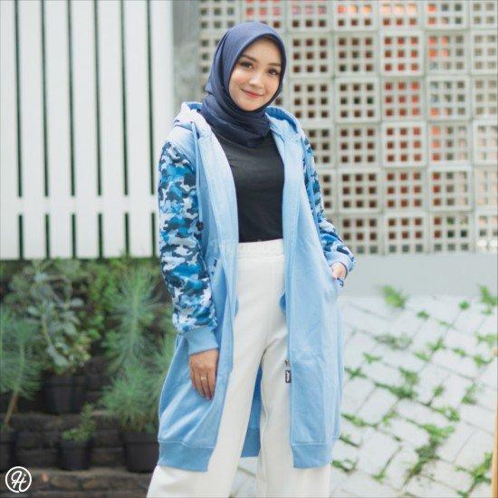 Hijacket Camouflashion Sky Blue