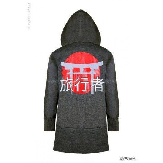 Hijacket Japan Street Dark Grey
