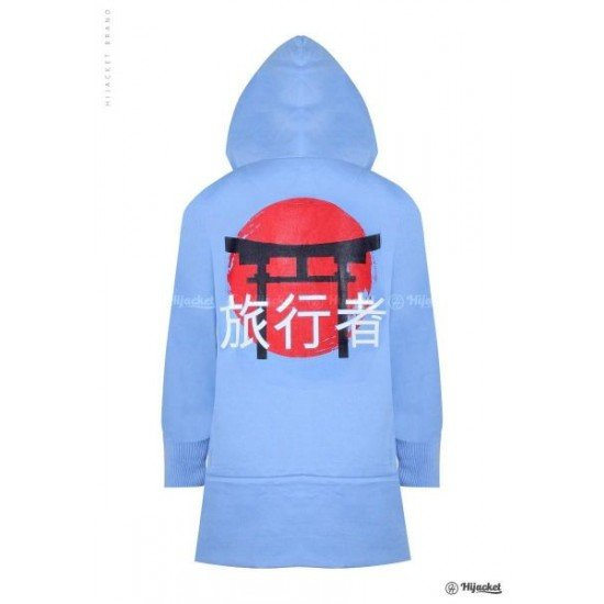 Hijacket Japan Street Sky Blue