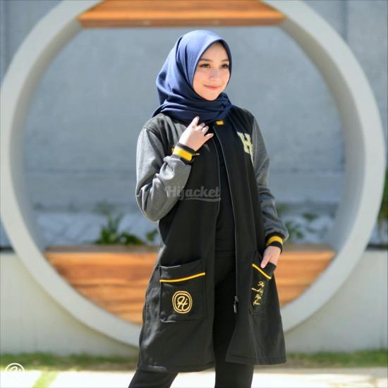 Hijacket Qadira Raven Grey