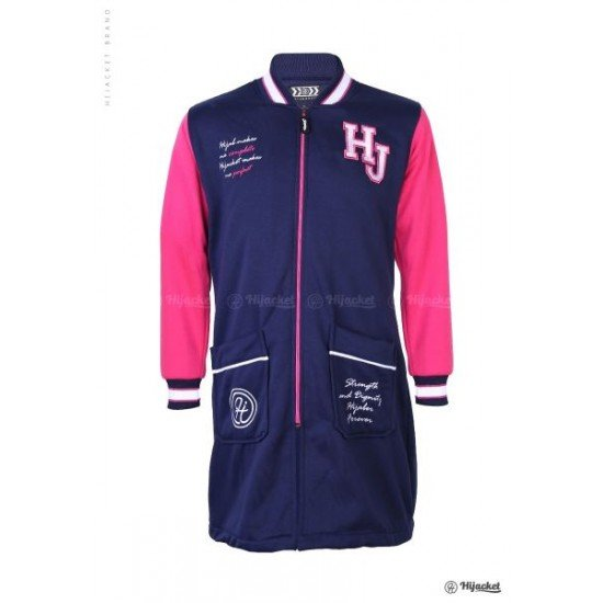 Hijacket Qadira Royal Pink