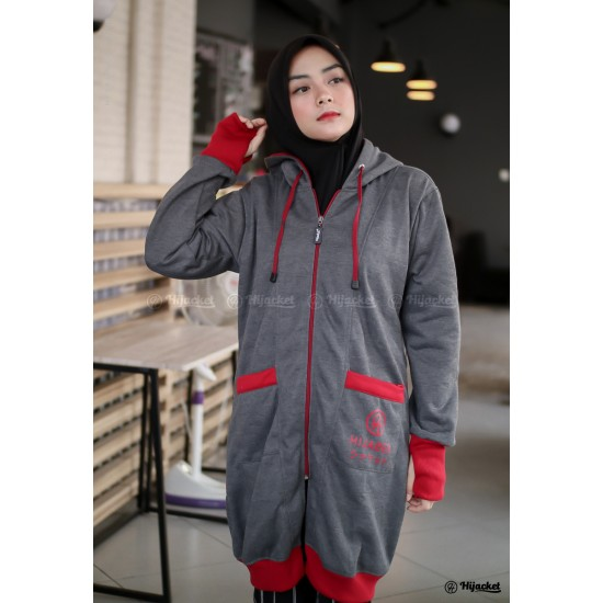 Hijacket Yukata Dark Grey