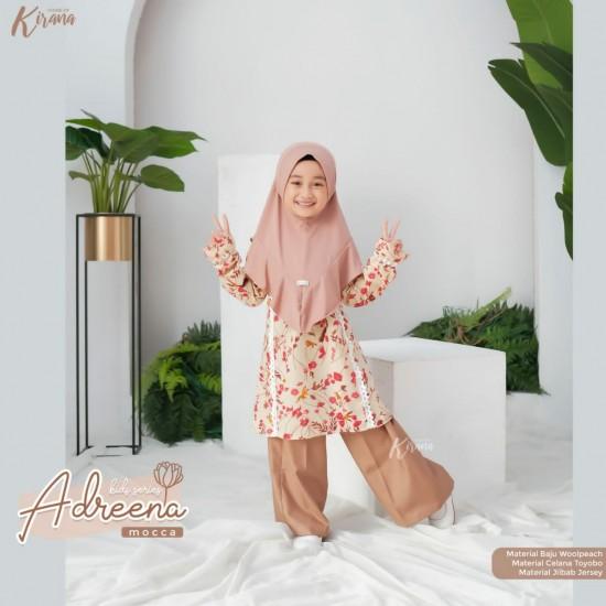 Gamis Anak Adreena Series Mocca