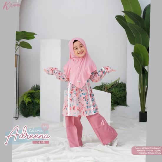 Gamis Anak Adreena Series Pink