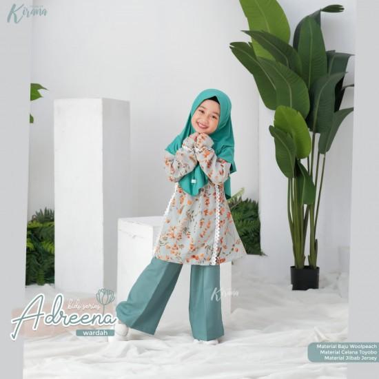 Gamis Anak Adreena Series Wardah