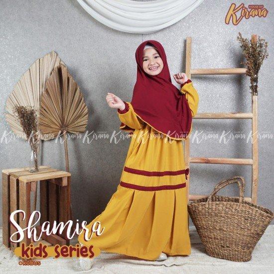 Gamis Anak Shamira Series Kubus