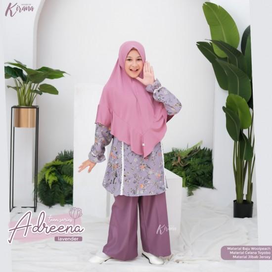 Gamis Remaja Adreena Series Lavender