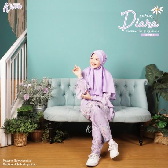 Home Dress Remaja Diara Series Purple
