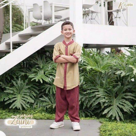 Koko Anak Zaini Series Golden Rod