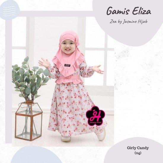 Gamis Anak Eliza Series Girly Candy