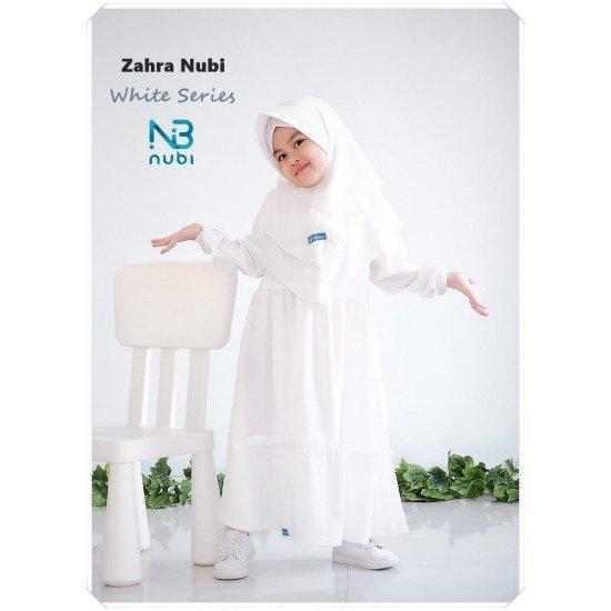 Gamis Anak New Zahra White