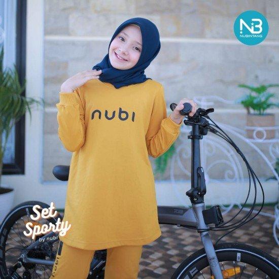 Jaket Sporty Nubi Yellow