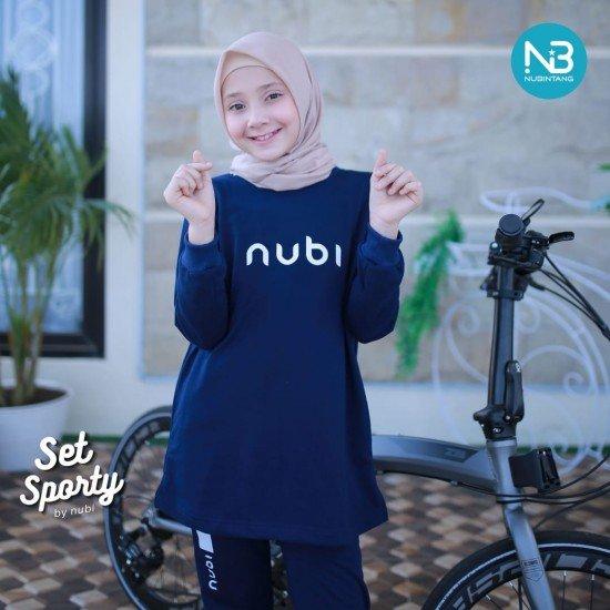 Jaket Sporty Nubi Navy