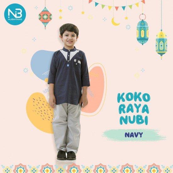 Koko Anak Raya Kids Navy