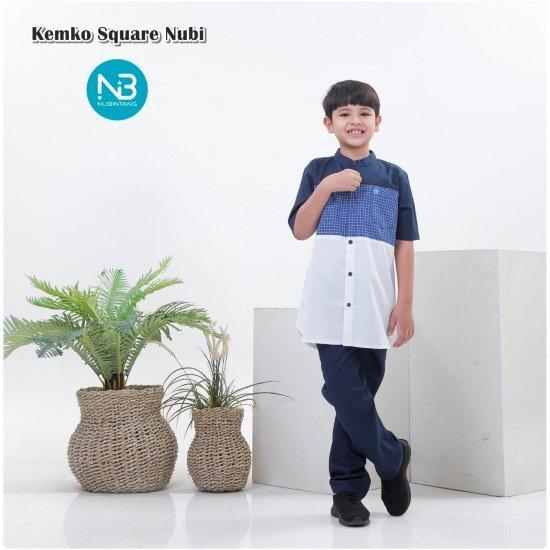 Koko Anak Square Series Navy