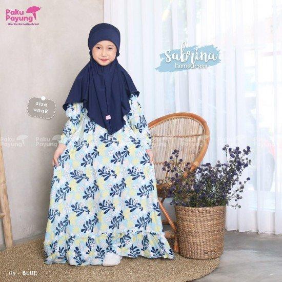 Gamis Anak Sabrina Series Blue