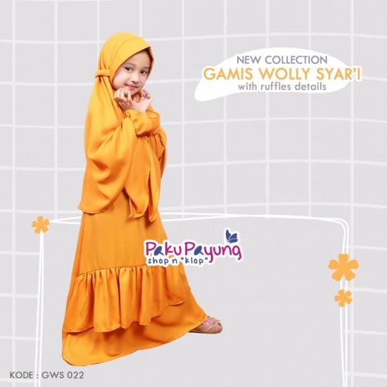 Gamis Anak Wolly Syari GWS-022