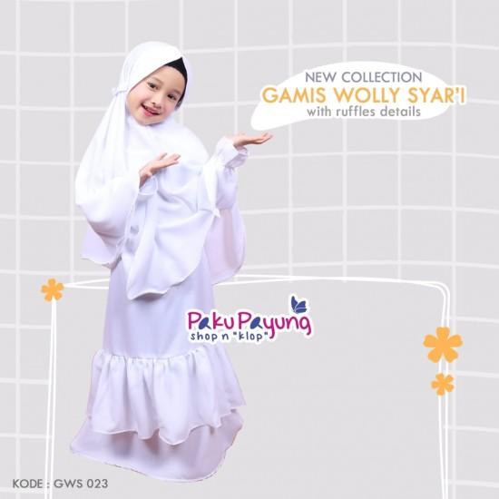Gamis Anak Wolly Syari GWS-023