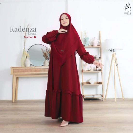 Gamis Dewasa Kadenza Dress Maroon