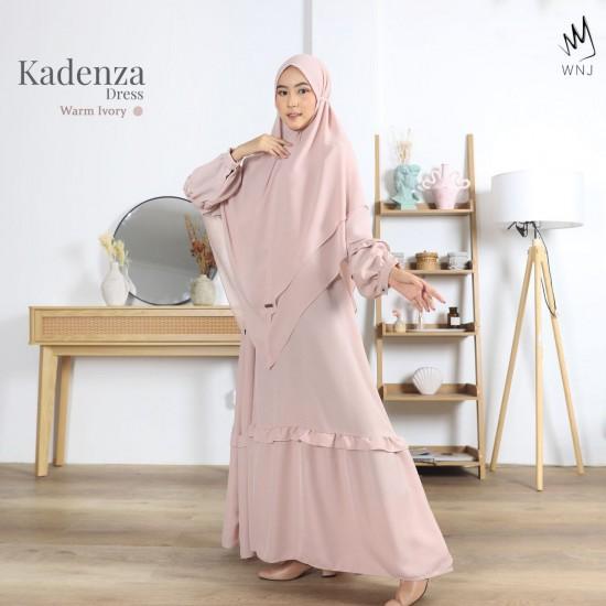 Gamis Dewasa Kadenza Dress Warm Ivory