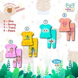 Baju Anak Owl Series