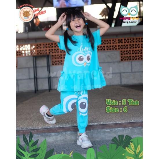 Baju Anak Owl Series Girls Tosca