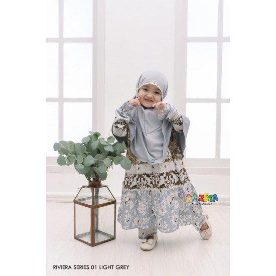 Home Dress Anak Riviera Series Light Grey
